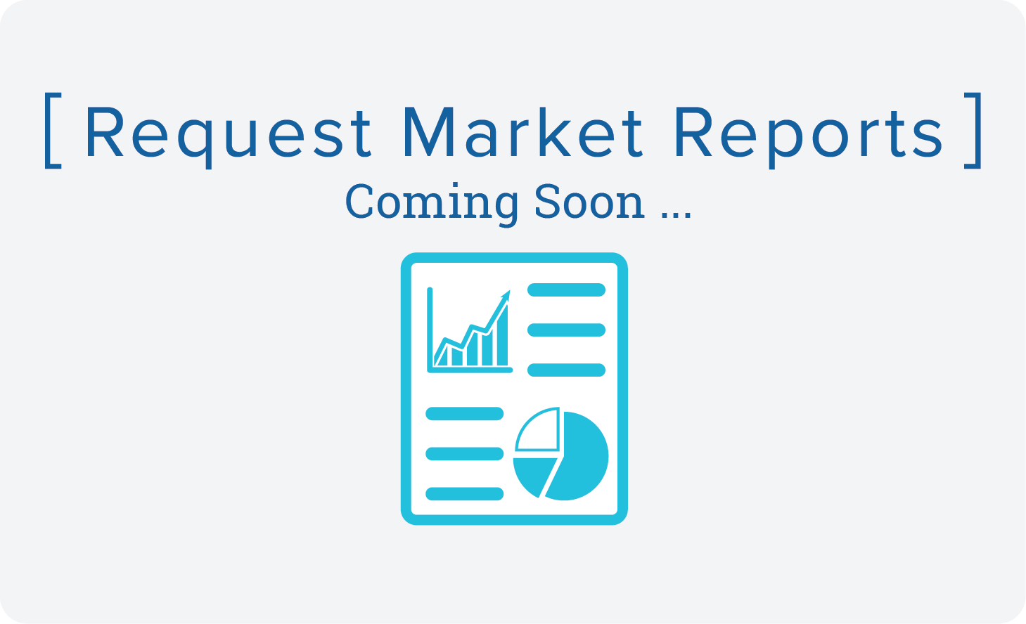 Market Reports-coming soon